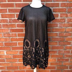2/ $25 sale! Black Lace Cocktail Dress by CeCe
